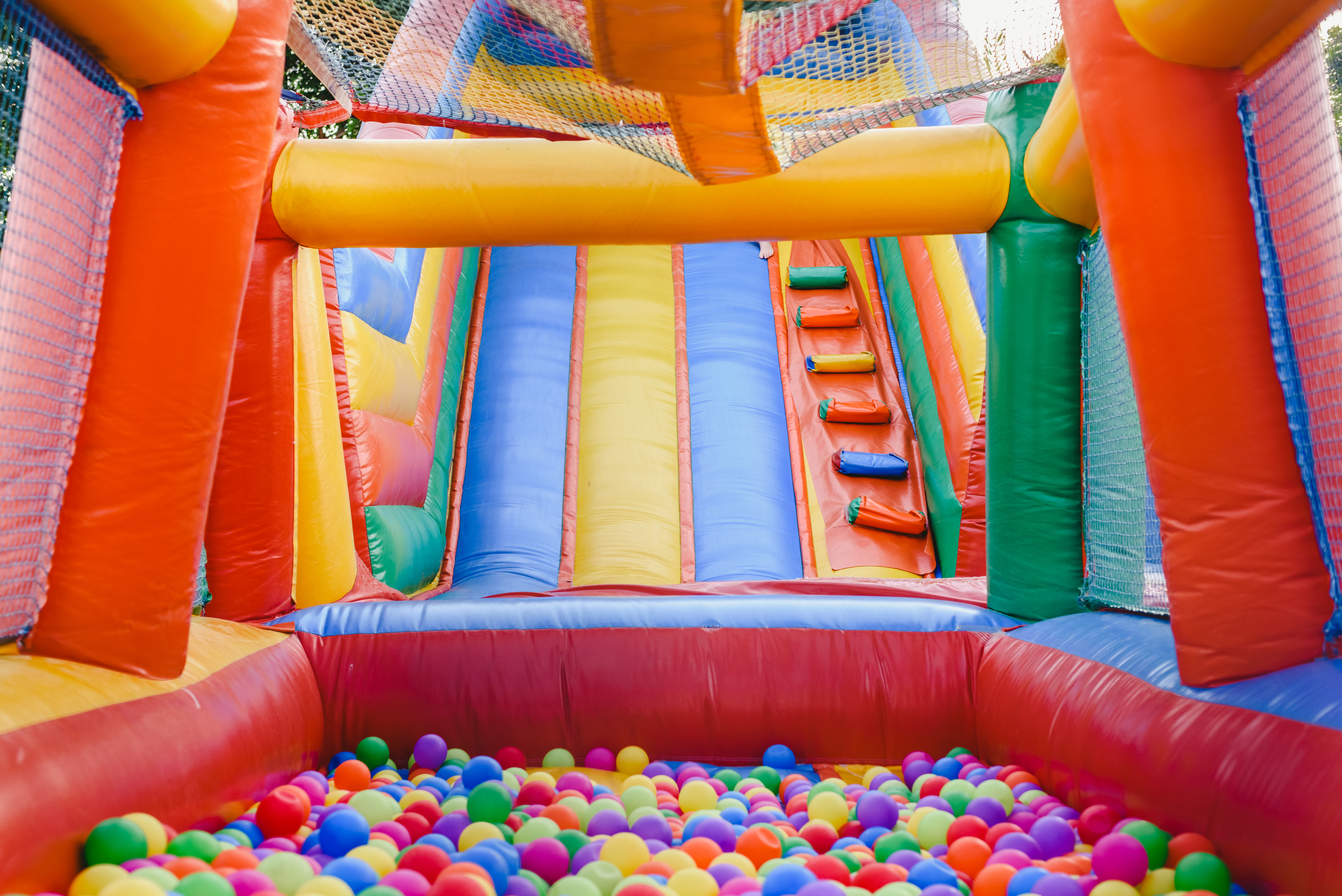 Special event safety: inflatable amusements